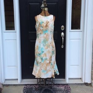Escada silk dress. Size 40/10